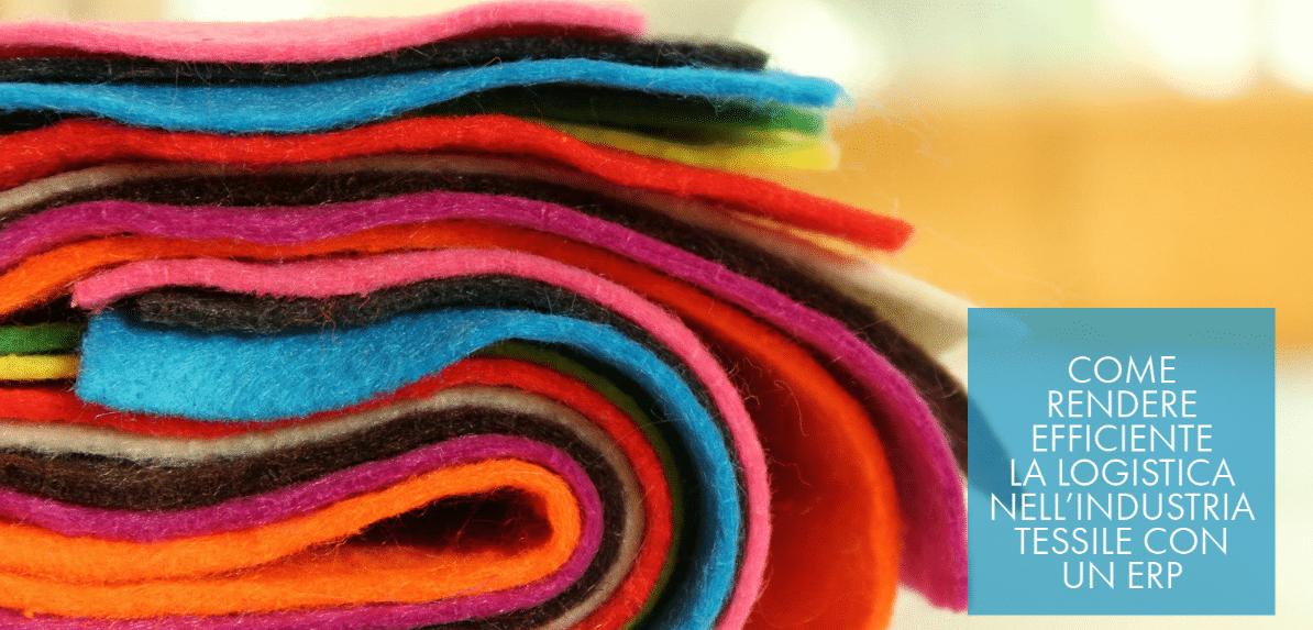 ERP nella logistica dell'impresa tessile